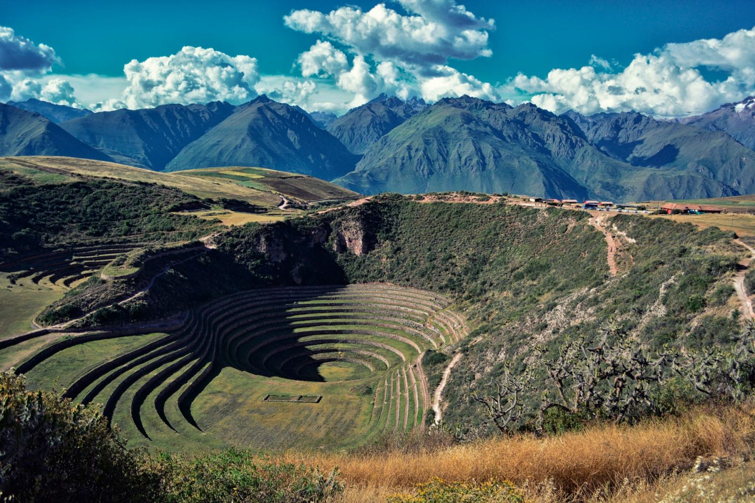 Circles in Moray Cusco Peru