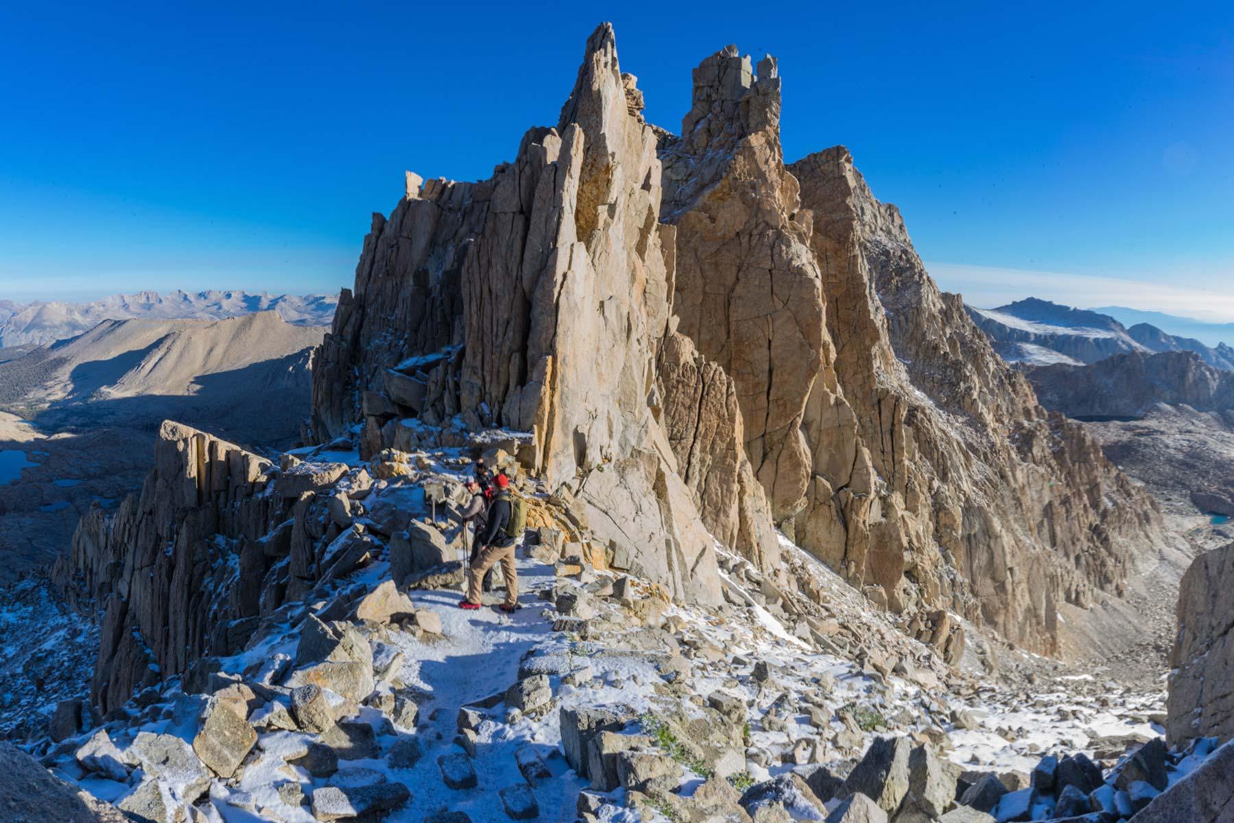5 montañas de menor altitud