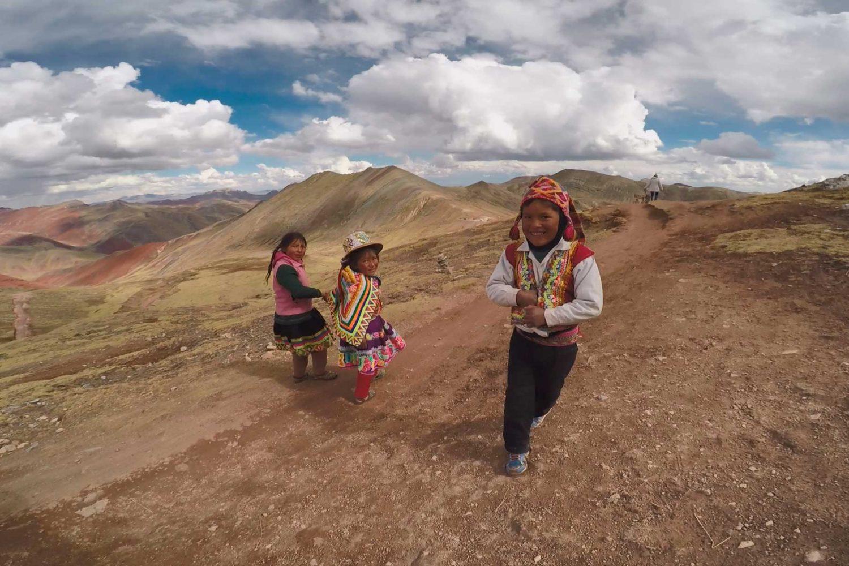 Niños en Palcoyo