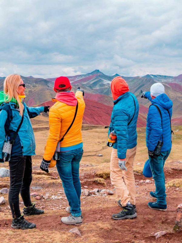Turistas en Palcoyo