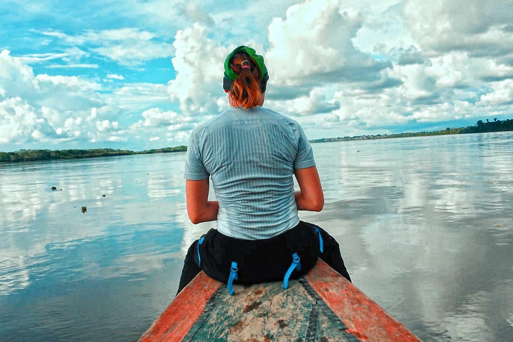Río Amazonas en Iquitos