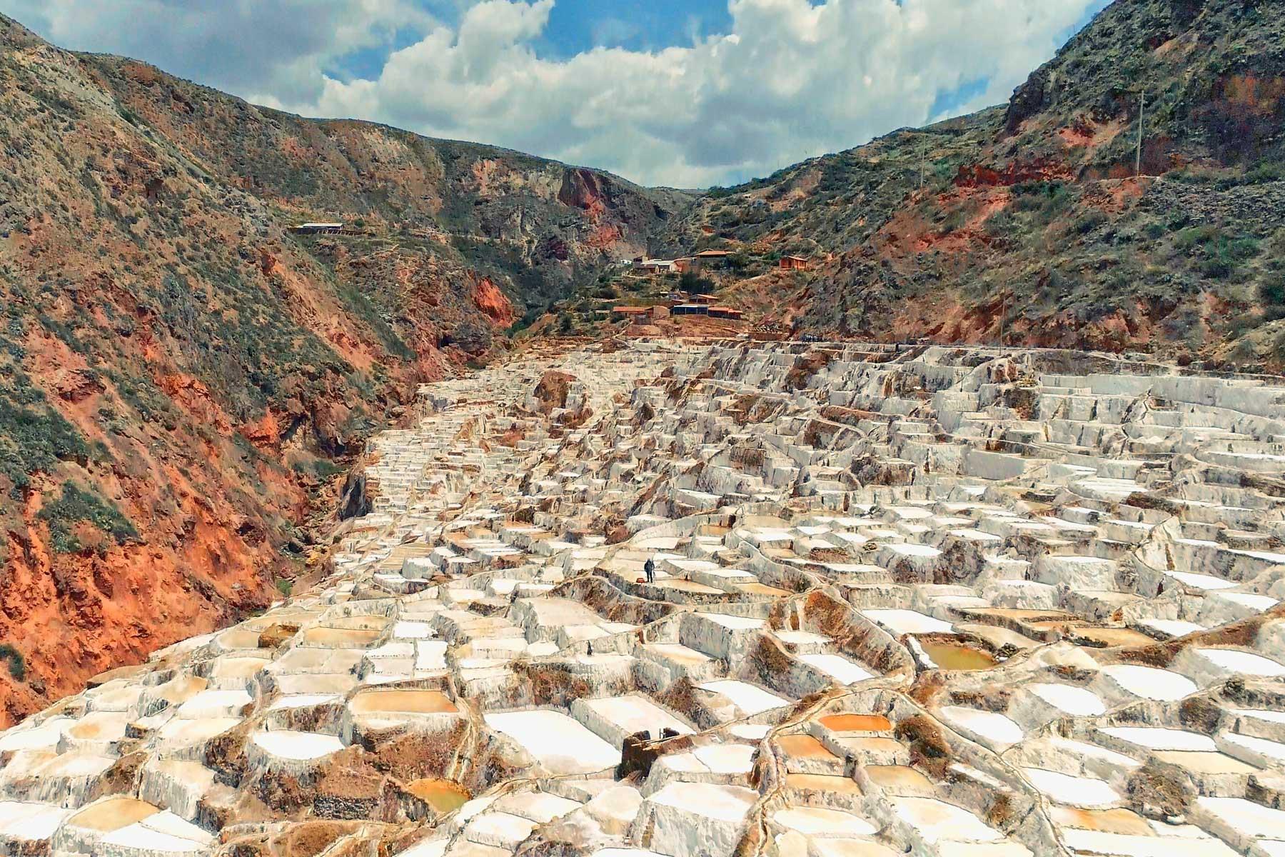 Salineras de Maras en el Valle Sagrado