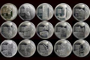 Colección de monedas sol peruano