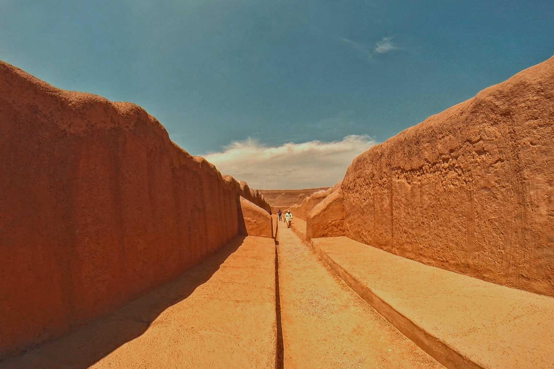 Trujillo ruinas de Chan Chan ruta norte del Perú