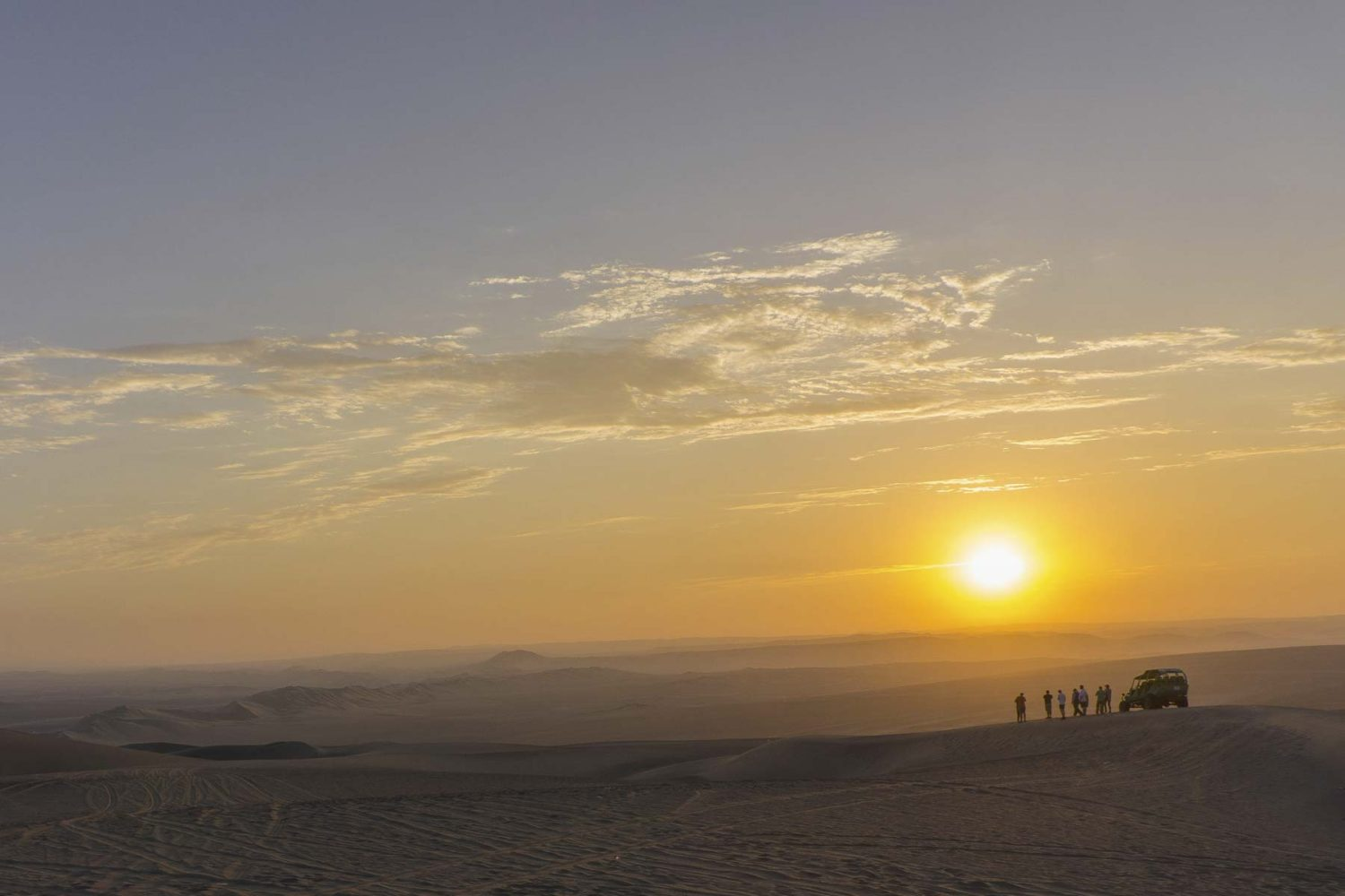 Sunset en Huacachina