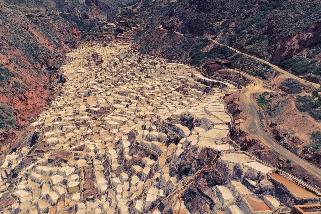 Minas de sal Maras en Valle Sagrado